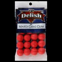 It's Delish Mardi Gras Gum