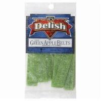 It's Delish Sour Green Apple Belts - 3.5 oz
