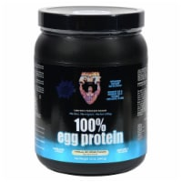 Healthy N Fit Vanilla Ice Cram Flavor 100% Egg Protein Powder - 12 oz