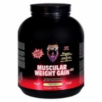Healthy 'N Fit Muscular Weight Gain 2 - Vanilla - 4.4 Lb. - Case of 1 - 4.4 LB each