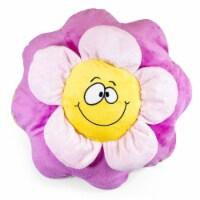 Giftable World AK080018 15.5 in. Flower Pillow