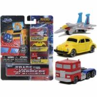 Jada Toys Nano Hollywood Rides Transformers NV4 Set Of 3 Diecast Figures - 1 Unit
