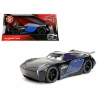 "Disney Pixar \Cars 3\ Movie Jackson Storm Diecast Model Car by Jada"""""" - 1"