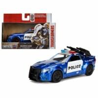 "Barricade Custom Police Car From \Transformers 5\ Movie 1/32 Diecast Model Car  by Jada"""""" - 1"
