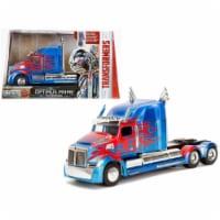 "Western Star 5700 XE Phantom Optimus Prime \Transformers\ Movie Model Car Metals"""""" - 1"