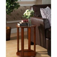 KB PS46 24 x 16 x 16 in. Plant Stand - Walnut