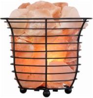 DSI Salt Crystal Basket Lamp