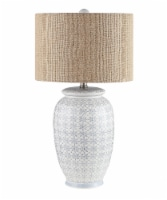 DSI Stamped Ceramic Table Lamp