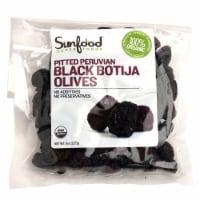 Sunfood Organic Black Pitted Peruvian Botija Olives