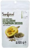 Sunfood Organic Raw Heirloom Pumpkin Seeds