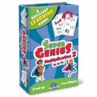 Blue Orange USA BOG01307 Super Genius - Multiplication 2 Card Game