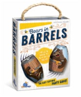 Blue Orange Bears in Barrels Game