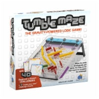 Blue Orange Tumble Maze Gravity-Powered Logic Game