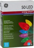 GE LED C-3 Energy Smart Lights 50 Count – Multi/Green