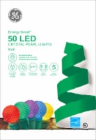 GE LED Crystal Pearl Energy Smart Lights 50 Count – Multi/Green