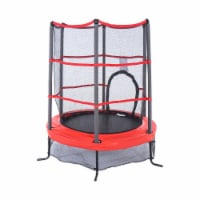 Propel Trampolines 55 Inch Preschool Trampoline with Zippered Entrance, Red - 1 Piece