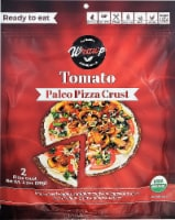 WrawP  Pizza Crust Gluten Free   Tomato