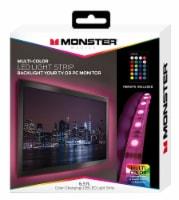 Jem Accessories Monster Remote Controlled Multi-Color LED Light Strip - 6.5 ft
