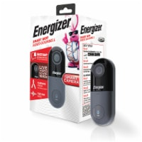 Energizer Connect EOD1-1002-SIL Smart 1080p Video Doorbell - 1