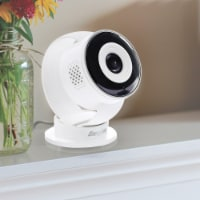 Smart 1080p Full HD Indoor Wi-Fi Security Camera (White) - 1