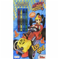 Bendon Disney Mickey Roadster Racers Coloring Activity Book - 1 Unit