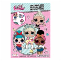 Bendon LOL Surprise Coloring And Activity Book With Tattoos - 1 Unit