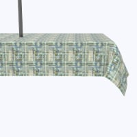 """Water Repellent, Outdoor, 100% Polyester, 60x120"""", Abstract Paisley Squares - 1 Product"""