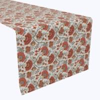 "Table Runner, 100% Polyester, 14x108"", Autumn Paisley"