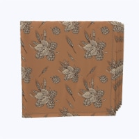 """Napkin Set, 100% Polyester, Set of 12, 18x18"""", Beer Hops & Wheat - 12 Units, 1 Product"""