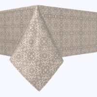 """Square Tablecloth, 100% Polyester, 54x54"""", Floral Scroll Lace"""