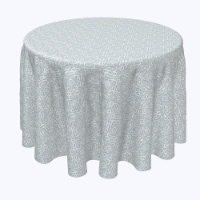 """Round Tablecloth, 100% Polyester, 96"""" Round, Lace Swirls"""