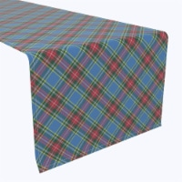 "Table Runner, 100% Polyester, 12x72"", Macbeth Tartan Plaid"