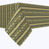 "Square Tablecloth, 100% Polyester, 70x70"", Snake Skin Stripe"