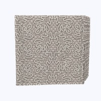 """Napkin Set, 100% Polyester, Set of 12, 18x18"""", Textured Lace Pattern - 12 Units, 1 Product"""
