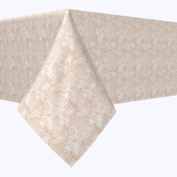 """Rectangular Tablecloth, 100% Polyester, 60x84"""", Victorian Wedding Lace"""