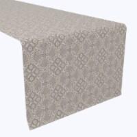"""Table Runner, 100% Polyester, 12x72"""", Vintage Elegance Lace Design"""
