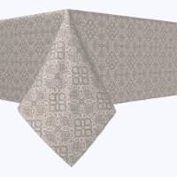 "Square Tablecloth, 100% Polyester, 60x60"", Vintage Elegance Lace Design"