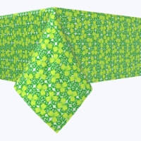 "Rectangular Tablecloth, 100% Polyester, 60x104"", Celtic Foliage"
