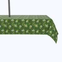 """Water Repellent, Outdoor, 100% Polyester, 60x84"""", Clover Blossom - 1 Product"""