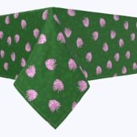 "Rectangular Tablecloth, 100% Polyester, 60x104"", Irish Bloom Green - 1 Product"