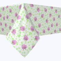 "Rectangular Tablecloth, 100% Polyester, 60x84"", Irish Bloom White"