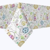 """Rectangular Tablecloth, 100% Polyester, 60x120"""", Chicken Hatch Fun - 1 Product"""