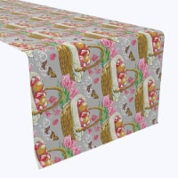 """Table Runner, 100% Polyester, 12x72"""", Filled to the Brim - 1 Product"""