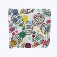 "Napkin Set, 100% Polyester, Set of 12, 18x18"", Polka Dot Egg Hunt - 12 Units, 1 Product"