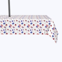 """Water Repellent, Outdoor, 100% Polyester, 60x104"""", 4th of July Balloon Parade"""