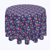 """Round Tablecloth, 100% Polyester, 60"""" Round, American Star Décor"""
