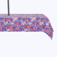 """Water Repellent, Outdoor, 100% Polyester, 60x104"""", Painted Firework Fun - 1 Product"""