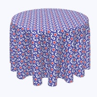 """Round Tablecloth, 100% Polyester, 60"""" Round, Stars in Stars Inception - 1 Product"""