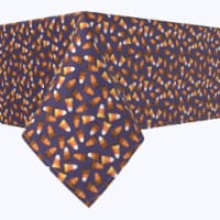 """Rectangular Tablecloth, 100% Polyester, 60x104"""", 3D Candy Corn - 1 Product"""