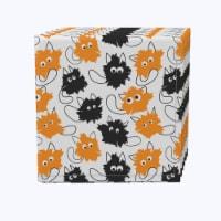 "Napkin Set, 100% Polyester, Set of 12, 18x18"", Goofy Funny Cats"